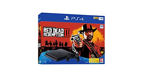 PlayStation 4 (PS4) - Consola de 1 TB + Red Dead Redemption II ...