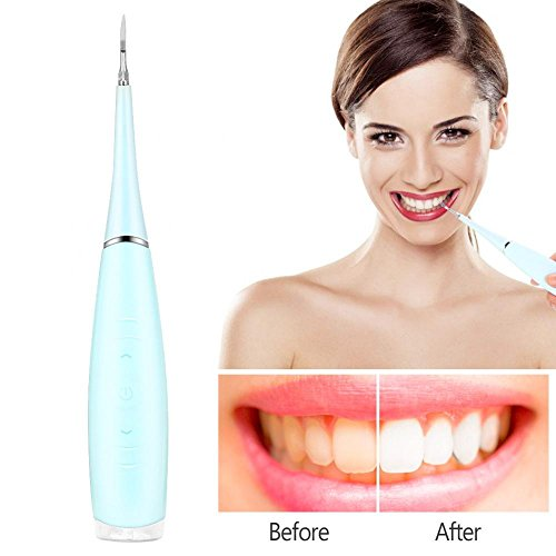 Water Flossers for Teeth, Cordless Portable Electric USB Rechargeable tooth Irrigator Cleaning Calculus Removal Tartar Clean for Home and ()