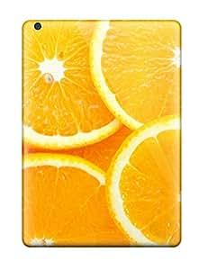 Flexible Tpu Back Case Cover For Ipad Air - Orange 6587992K14455238