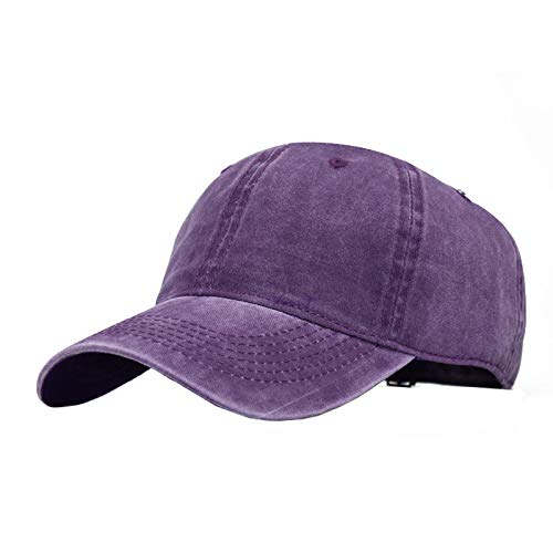 (Women's Originals Relaxed Fit Strapback Cap Distressed Retro Washed Cotton Twill)