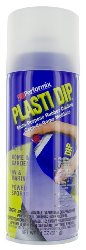 Plasti Dip Performix 11209 Clear Multi-Purpose Rubber Coating Aerosol - 11 (Clear Coating)