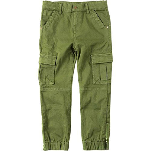 (Appaman Kids  Baby Boy's Soft Skinny Cargo York Pants (Toddler/Little Kids/Big Kids) Cedar Green Pants)
