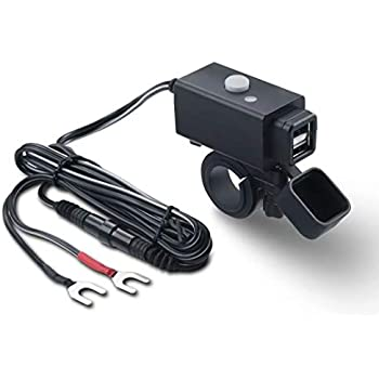 Amazon.com: MOTOPOWER MP0620A 4.2Amp Motorcycle Dual USB ...