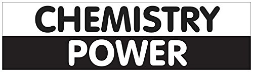 Funny Science ThemedChemistry Power Sticker