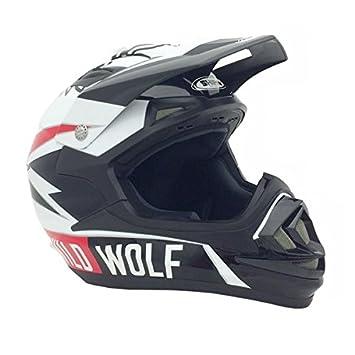PREMIUM – Casco Adulto Off Road Racing MX Motocross Dirt Bikes ATV UTV – Shiro Wild