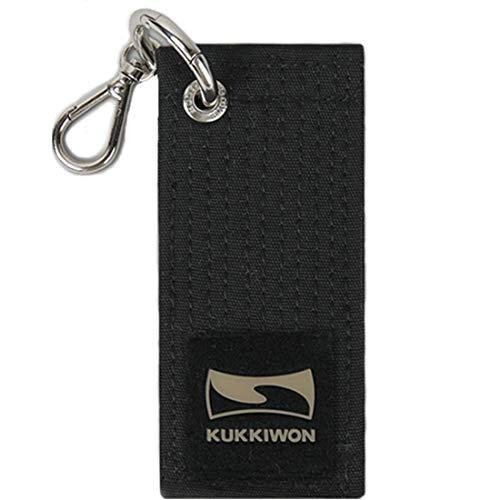 - Mooto Korea Taekwondo Kukkiwon Black Belt Mini Key Ring Holder Chain Accessories Keyring Keychain KeyHolder MMA Martial Arts Gym School Academy Souvenir (1 EA)