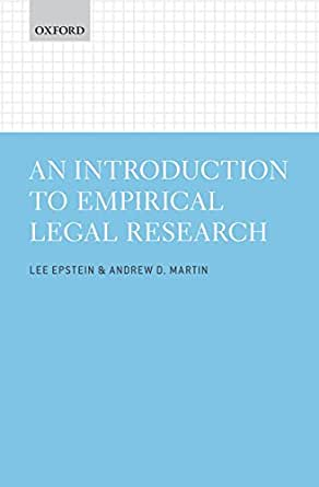 An Introduction to Empirical Legal Research - Kindle edition by Lee