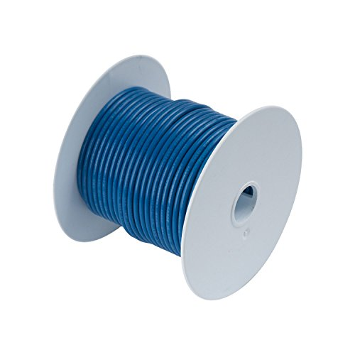 Calterm 52141 Electrical Primary Wire, 100 ft., 14 AWG, Blue