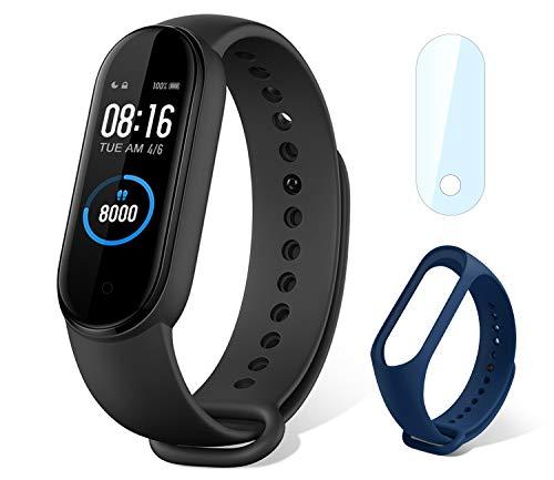 Xiaomi mi Band 5 Smart Fitness Bracelet Cardiofréquencemètre, Trackers d'activité, étanche de Sport 5ATM Bluetooth 5.0…
