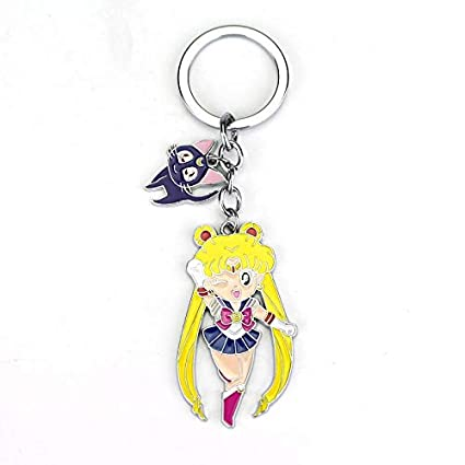 MINTUAN Lindo Janpanese Anime Sailor Moon Llavero Llavero ...