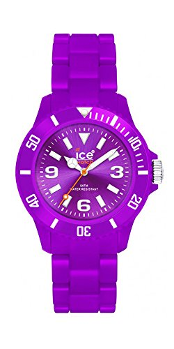 Ice Classic Solid Purple Dial Plastic Strap Men's Watch CSPEBP10