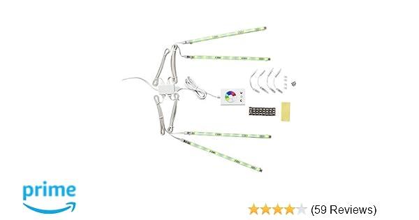 Amazon.com: Ikea 501.923.65 Dioder LED Light Strip Set, Multicolor ...
