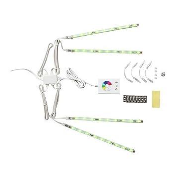 ikea strip lighting. Ikea DIODER - LED 4-piece Lighting Strip Set, Multicolour Ikea N