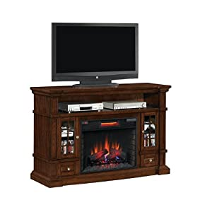 Amazon.com: Twin Star Belmont Electric Fireplace and Mantel: Home ...