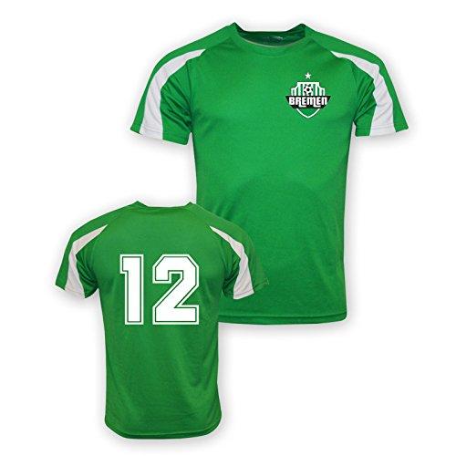 12 Werder Bremen Sports Training Jersey (green) B01M8LUR05Green Medium (38-40\