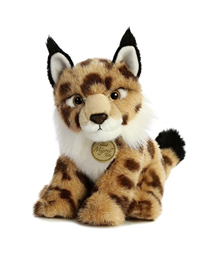 Aurora World Miyoni Toy Lynx Wild Cat Plush (Animals Bobcat)