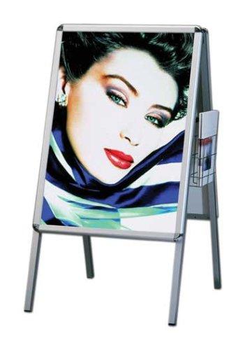 Plakatständer Alu-Line Rondo DIN A1 Luxus