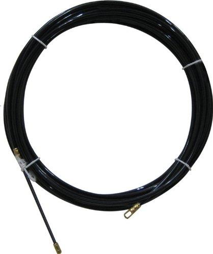 Electraline 61055 - Guía pasahílos (nailon, 20 m), color negro product image