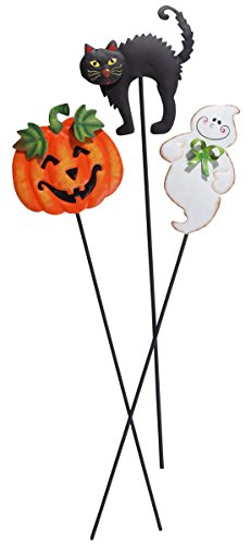 Miles Kimball Halloween Plant Stakes by Maple Lane CreationsTM, Set of 3]()