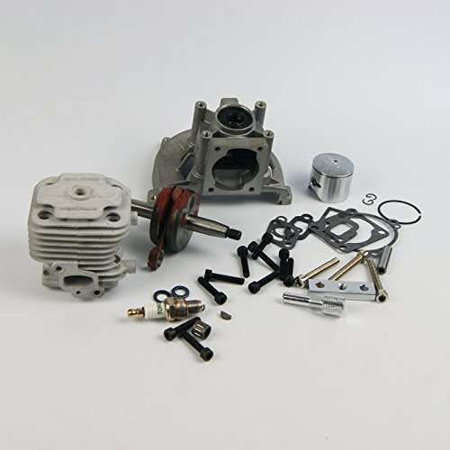 - Rebuild Upgrade 4 bolt 30.5cc Engine Kit piston crankcase for Rovan King Motor ZENOAH Baja 5B