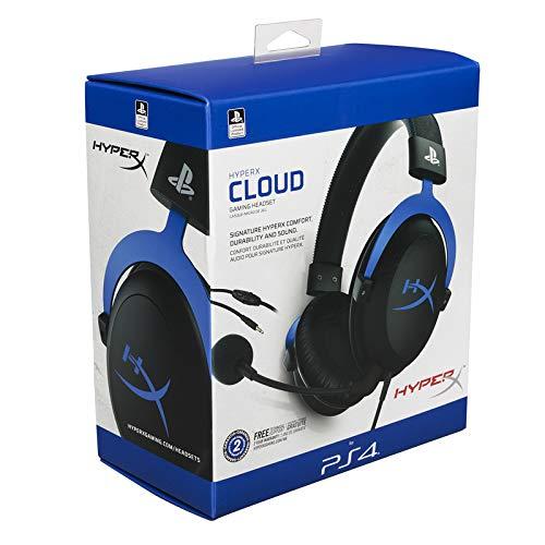 HyperX HX-HSCLS-BL/EM - Auriculares para Juegos, Color Azul: Amazon.es: Informática