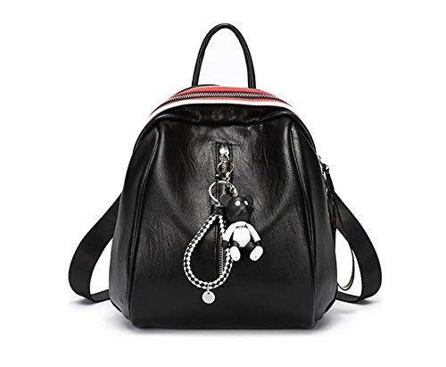 multifonctionnel à 24 main mode des Sac PU cuir de la souple femmes en sac 26cm 7 à sac décontracté dos PPqYTw