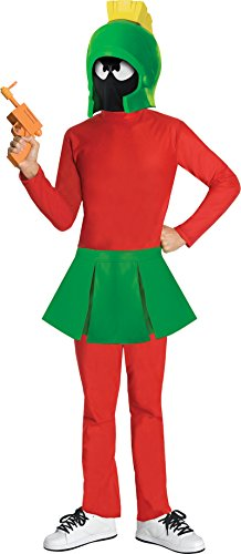 Warner Brothers Marvin The Martian Costume, Size: Boys Extra Large (14-16)