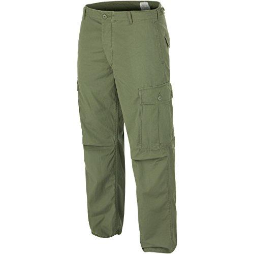 (Teesar Men's US Jungle Trousers M64 Vietnam Olive Size L)