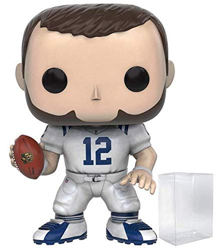 Funko Pop! NFL: Indianapolis Colts - Andrew Luck #45 Vinyl Figure (Includes Compatible Pop Box Protector Case)