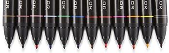 Prismacolor Premier Double-ended Art Markers, Fine & Chisel Tip, 12 Pack 13