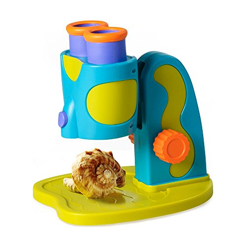 Educational Insights GeoSafari Jr. My First Microscope STEM Toy for Preschoolers]()