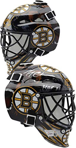 Gerry Cheevers Boston Bruins Autographed Mini Goalie Mask with