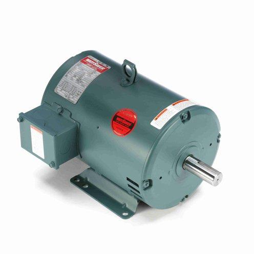 Leeson Electric 132232.00 - General Purpose Motor - 3 ph, 3 hp, 1800 rpm, 230/460 V, 182T Frame, Drip Proof Enclosure, 60 Hz, Rigid base Mount