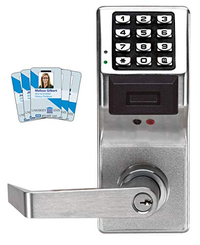 - Alarm Lock Systems Inc. PDL3000 US26D Trilogy T3 Prox and Keypad Cylindrical 26D, Satin Chrome