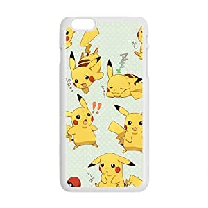 Anime cartoon Pokemon Pikachu Cell Phone Case for iphone 6 4.7