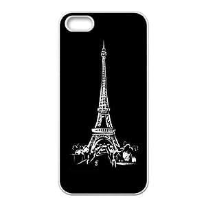 Classical Eiffel tower SUPER CHEAP Premium Ultra Slim Fit TPU Case for apple iphone5s