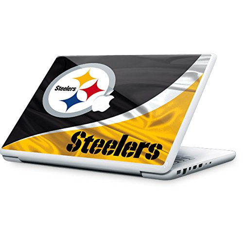Skinit Pittsburgh Steelers MacBook 13-inch Skin - Officially Licensed NFL Laptop Decal - Ultra Thin, Lightweight Vinyl Decal Protection