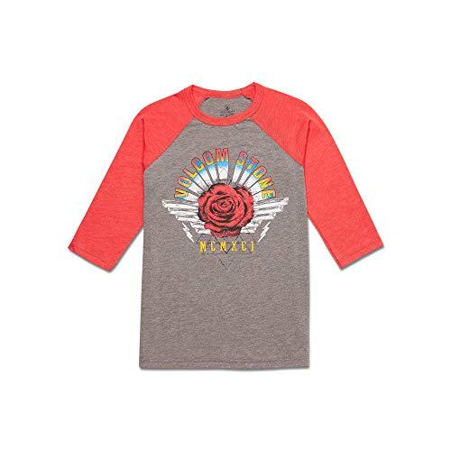 (Volcom Little Girls Cosmic Clash Raglan Shirt)