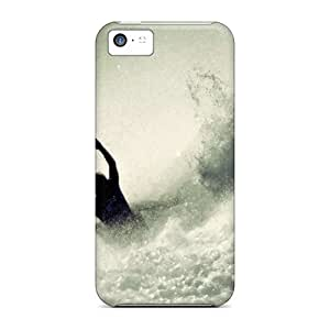 Premium [CcXBaWn5468RzLLj]water Seas Surfing Case For Iphone 5c- Eco-friendly Packaging