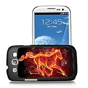 JAJAY-Fire Horse Pattern 3D Effect Case for Samsung S3 I9300
