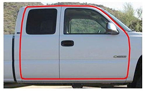 Perimeter 3rd Door Weatherstrip Seal for Sierra Silverado Pickup Truck Extended