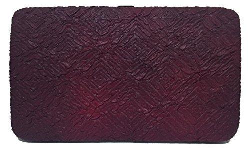Textured Clutch Wallet - 5