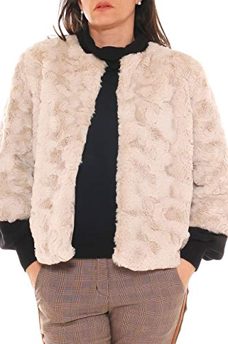 Blanco Freesketch Mujer Para Perla Abrigo 1013 ral qSSwOFxt