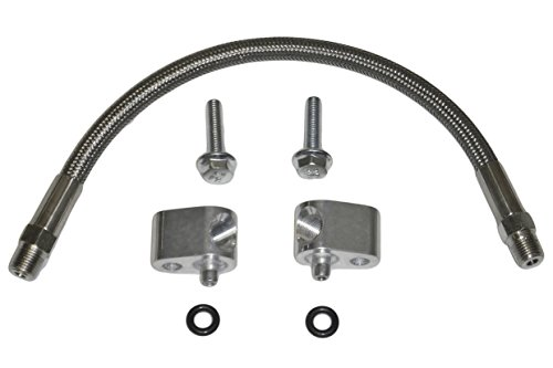 LS Throttle Body Bypass Hose Kit Coolant Crossover LS1 LSX 551694H (Radiator Coolant Hose Kit)