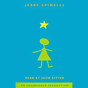 Star Girl  Audiobook by Jerry Spinelli Narrated by John Ritter