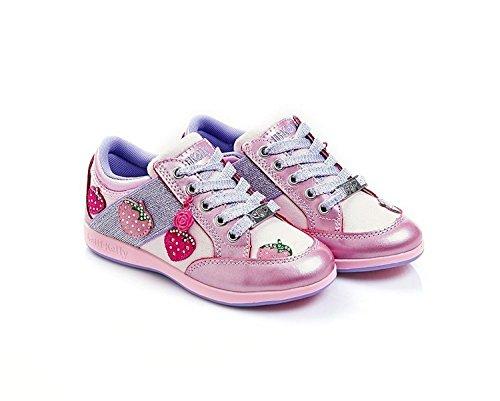 Lelli Kelly , Mädchen Schnürhalbschuhe Pink Rosa