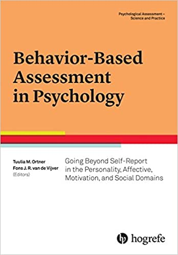AmazonCom BehaviorBased Assessment In Psychology Going Beyond