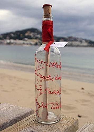 B.18.-Mensaje en botella Te quiero: Amazon.es: Handmade