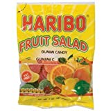 HARIBO GUMMY FRUIT SALAD 5 OUNCES 12 COUNT