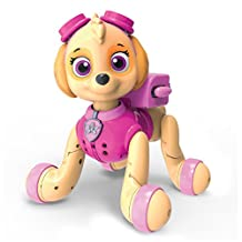 Paw Patrol, Zoomer Skye, Interactive Pup with Missions, Sounds and Phrases, by Spin Master